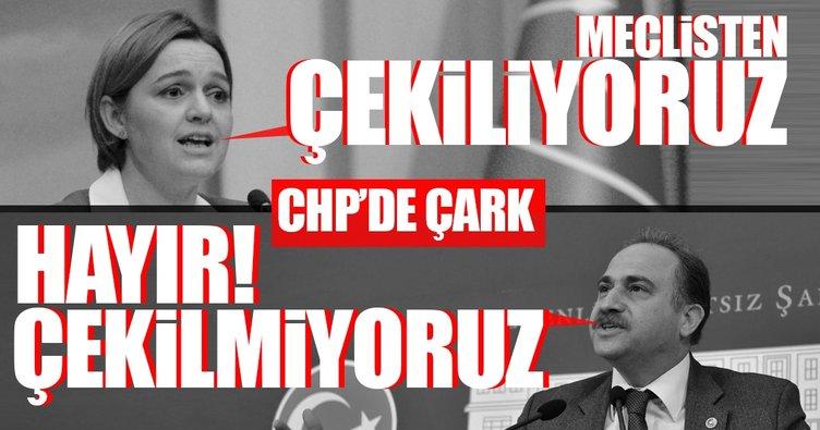 CHP yine çark etti: Meclisten çekilemediler!