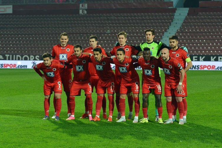 Trabzonspor - Gençlerbirliği maçından kareler