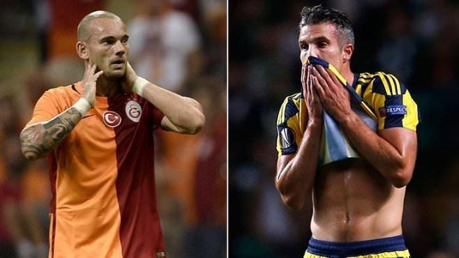 Van Persie'den Sneijder'e derbi mesajı!