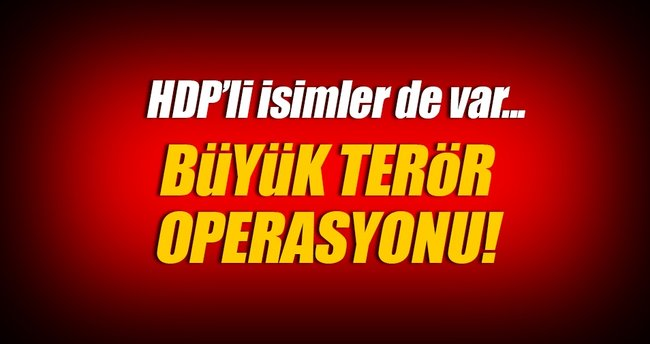 Van ve Hakkari'de terör operasyonu: 47 gözaltı
