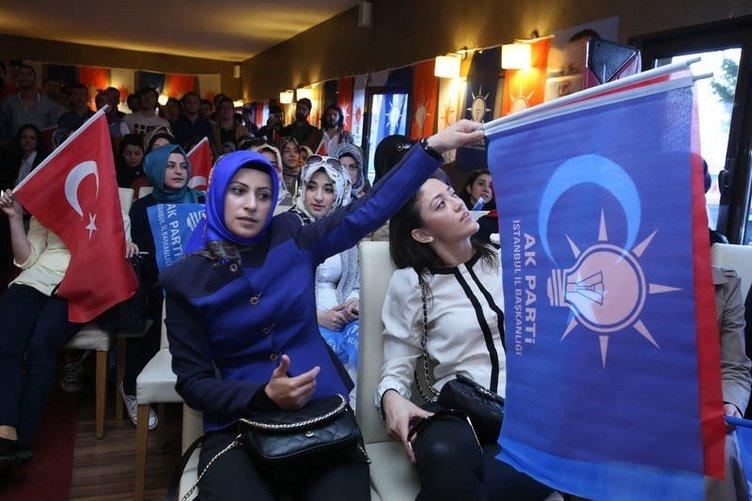 AK Parti, İstanbul'da seçim zaferini kutladı