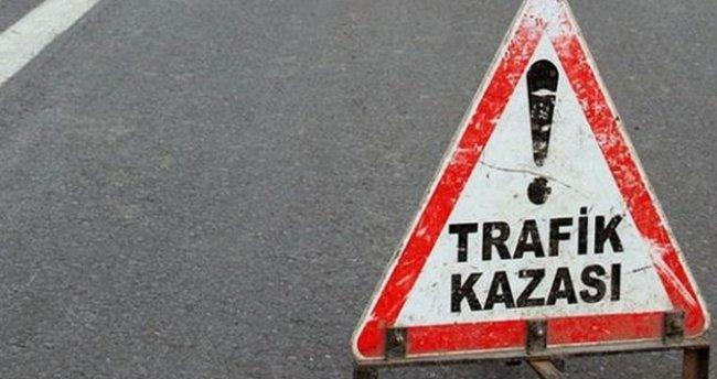 Elazığ'da feci kaza: 1 ölü, 2 yaralı