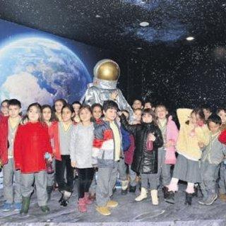 Tuzla'da 'uzaya yolculuk' başladı