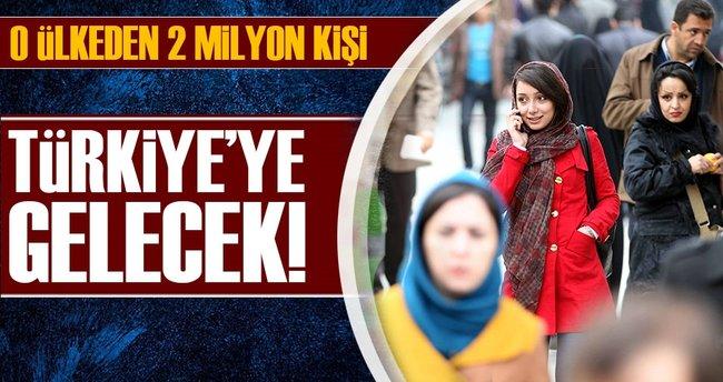 Türkiye'ye 2 milyon İranlı gelecek!