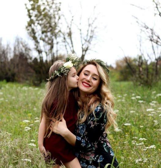 Doğadan ilham alan anneler