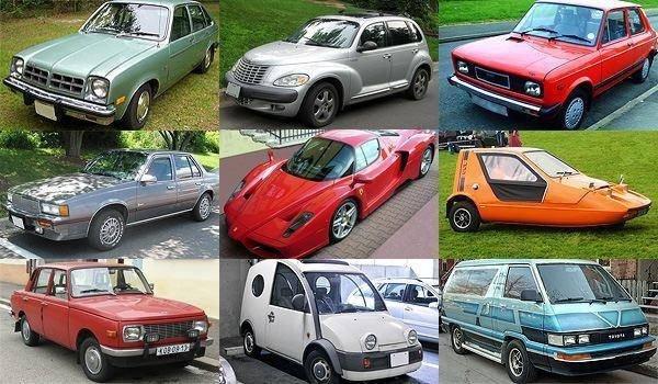 En ilginç 50 otomobil