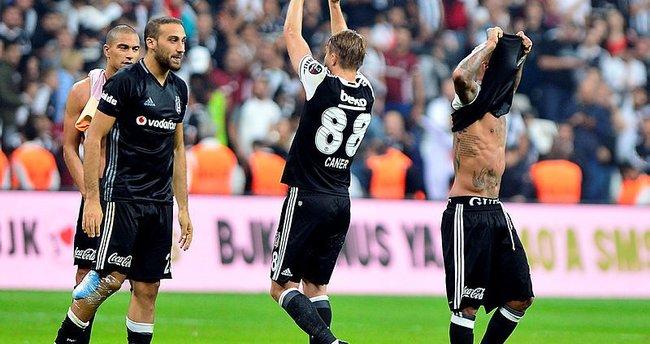 Beşiktaş sahasında ilk defa puan bıraktı