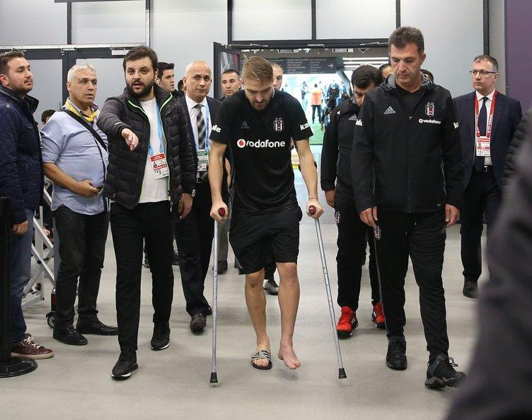 Beşiktaş'ta Caner Erkin şoku