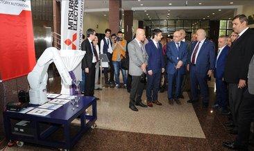 KTÜ'lü mühendis adayları Mitsubishi robotu ile çalışacak