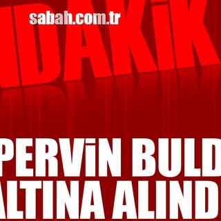 HDP`li Pervin Buldan gözaltına alındı
