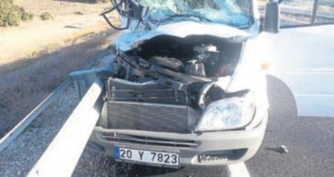 Gölhisar'da kaza: 1 ölü