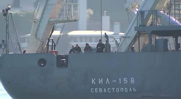 Rus gemisi tank taşıyormuş