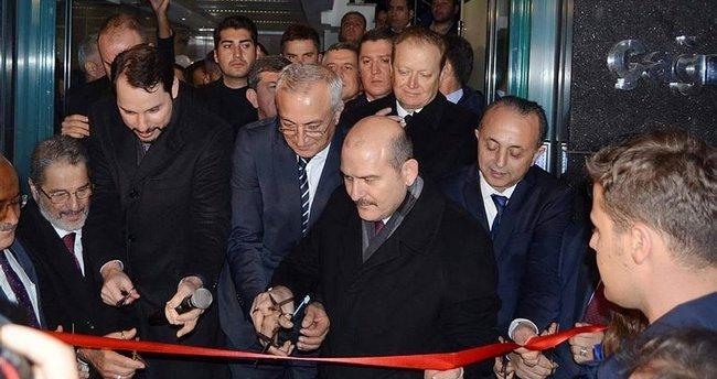 Bakanlar Soylu ve Albayrak Trabzon'da çağrı merkezi açılışını yaptı!