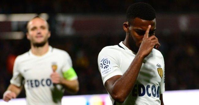 Monaco Mevlüt Erdinç'in takımını gole boğdu