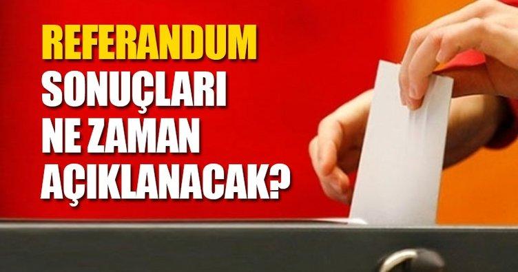 İşte Türkiye Geneli Referandum Sonuçları