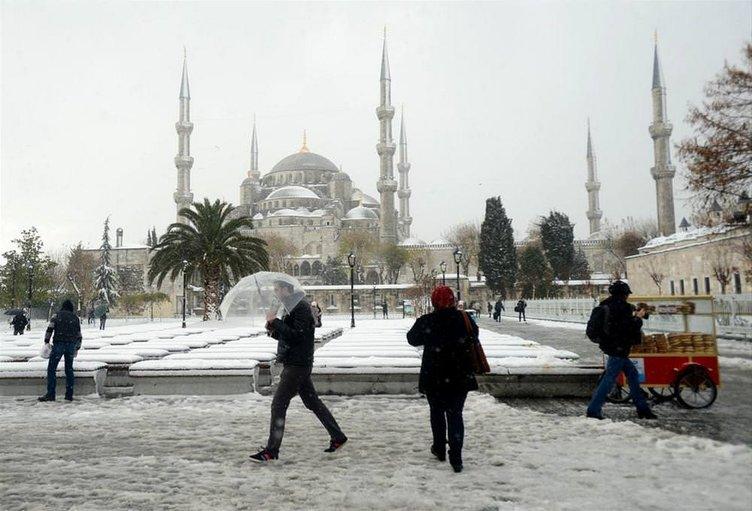 2013 Aralık ayından kar manzaraları