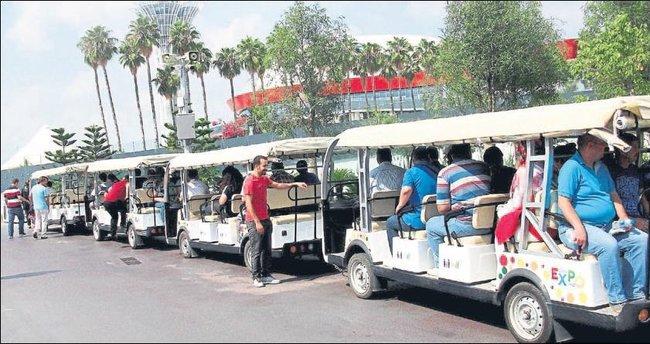 Hastalar, Expo'da moral depoladı