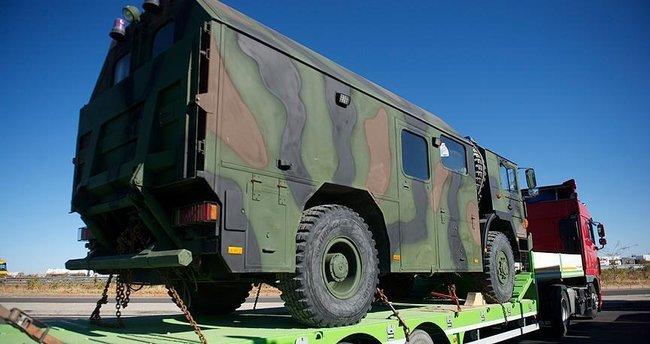 Askeri konvoyun bir bölümü Gaziantep'ten yola çıktı