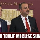 AK Parti ve MHP ortak basın açıklaması yapıyor