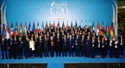 G20'nin son fotoğrafı!