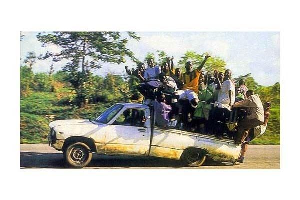 Afrika'dan akıl almaz kareler