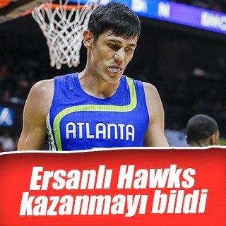 Ersan İlyasovalı Hawks kazandı