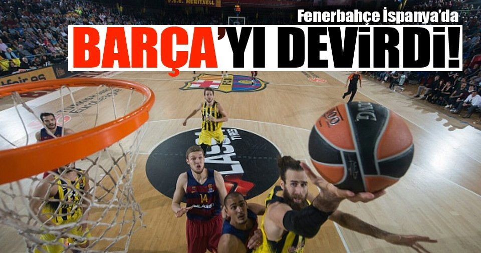 Barcelona - Fenerbahçe maç sonucu