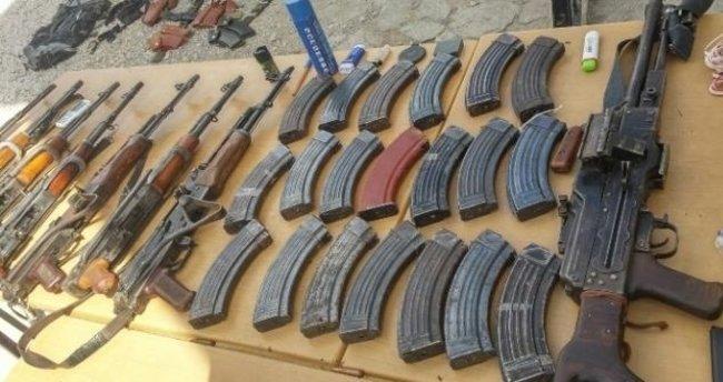 PKK'ya ait mühimmat deposu ele geçirildi