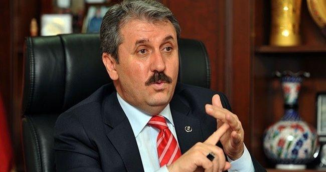 BBP Genel Başkanı Destici: Millet için EVET diyoruz