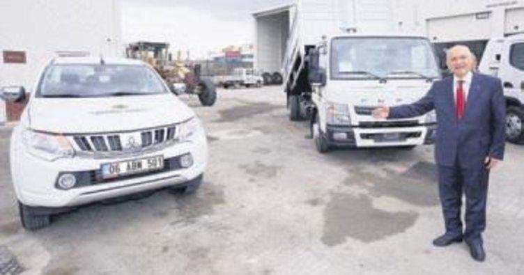 Yenimahalle'de araç filosu güçleniyor