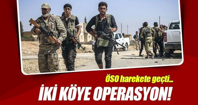 Özgür Suriye Ordusu'ndan 2 köye operasyon!