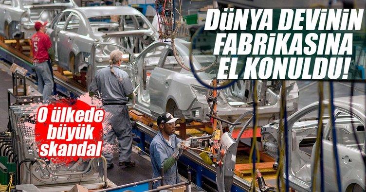 General Motors'un fabrikalarına el konuldu
