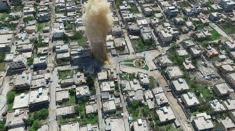 Nusaybin'de bombalı tuzaklar  temizleniyor