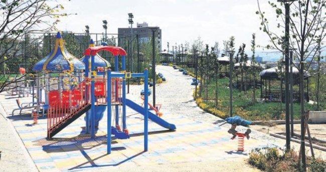 Batıkent'te yeni bir spor ve park alanı