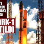 GÖKTÜRK-1 fırlatıldı - CANLI