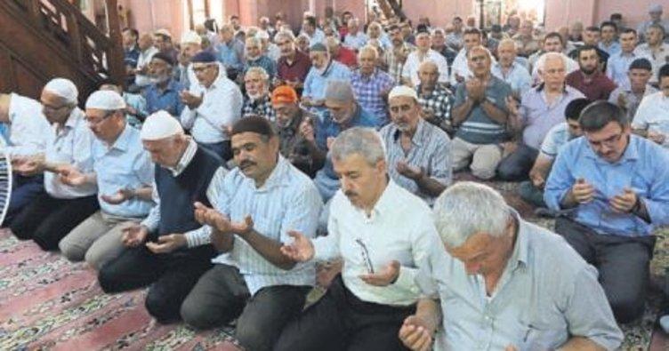 Kahramanlar için hatim duası yapıldı