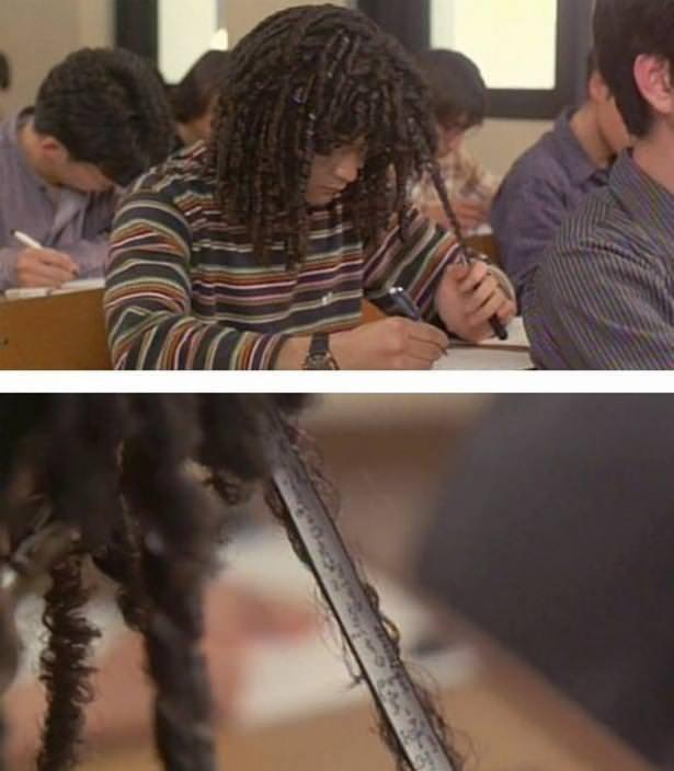 Öğrencilerin kopya ile 'imtihan'ı