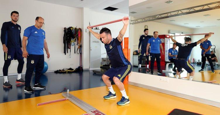 Fenerbahçe'den dayanıklılık çalışması