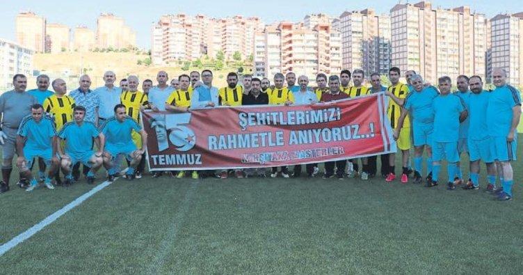 Gaziantep'te 15 Temmuz Turnuvası