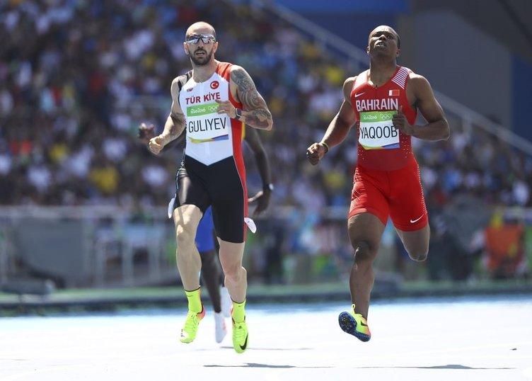 Usain Bolt'u geçen Türk!