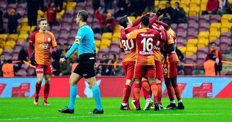 Galatasaray'ın Östersunds maçı muhtemel 11'i