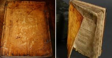 Bu kitaplar insan derisinden