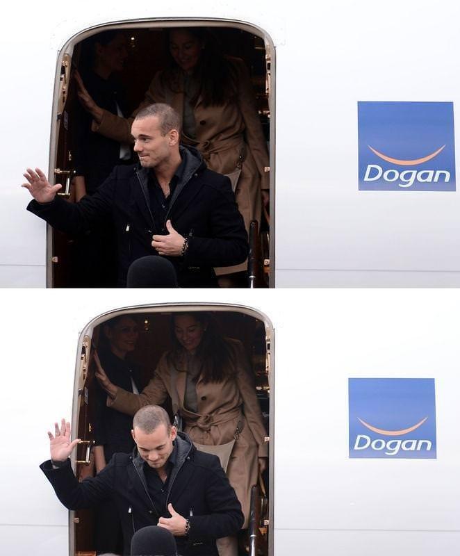 Sneijder İstanbul'da