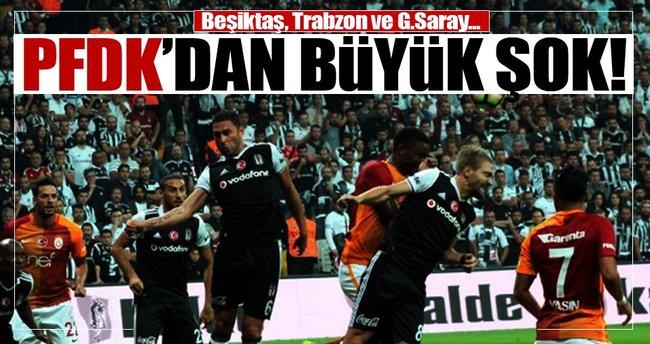 Beşiktaş ve Trabzon'a büyük şok!