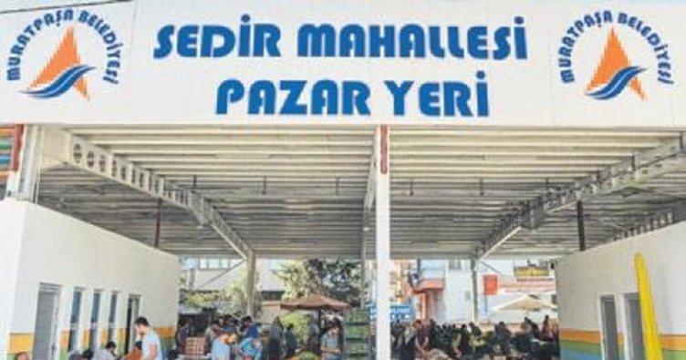 Sedir Mahallesi pazar yeri açıldı