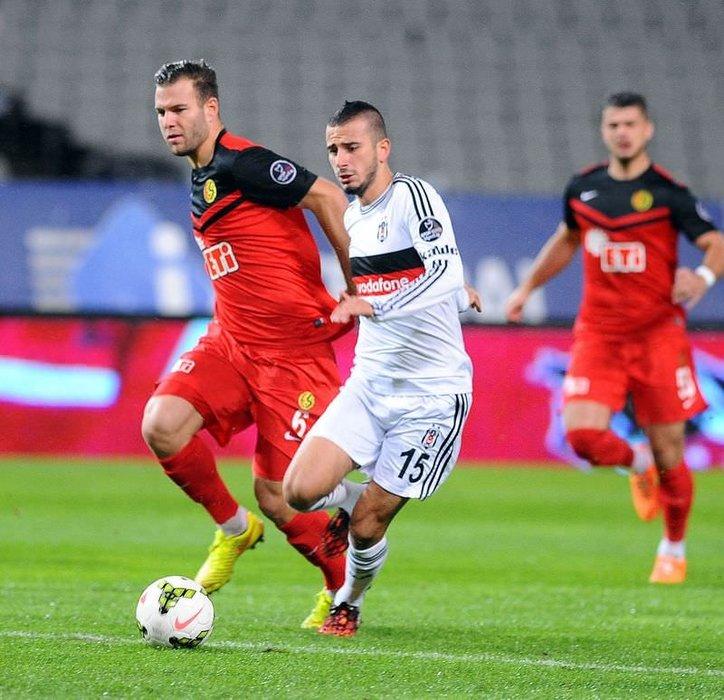 Beşiktaş - Eskişehirspor maçının fotoğrafları