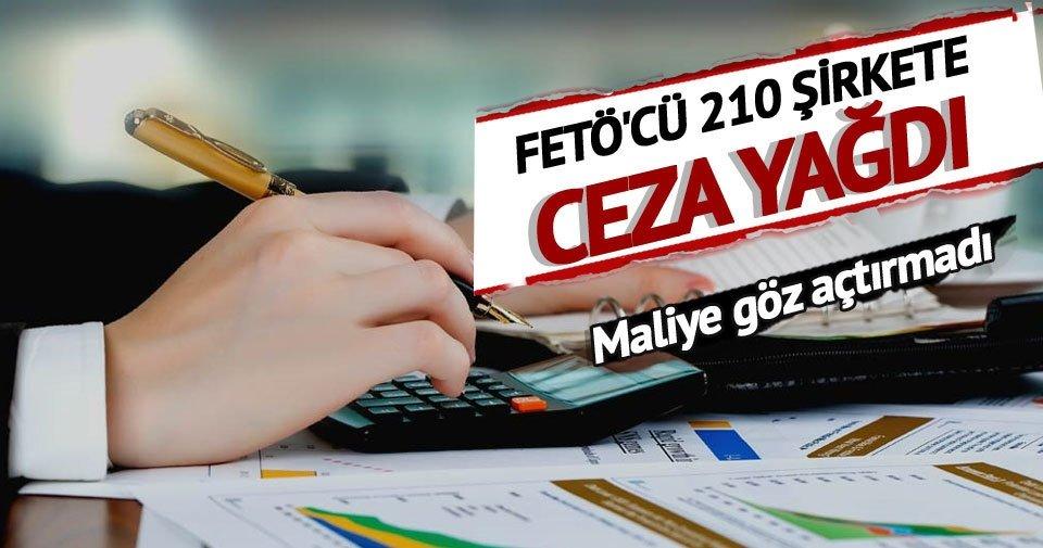 210 şirkete 2.7 milyar ceza