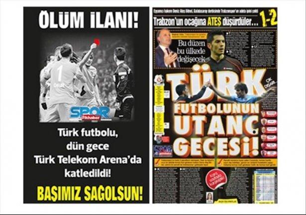 Trabzon yerel basını çıldırdı!