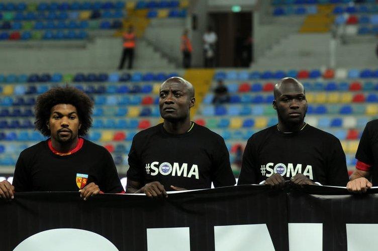 Spor dünyası Soma için yasta