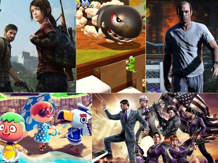 2013'ün en iyi oyunları